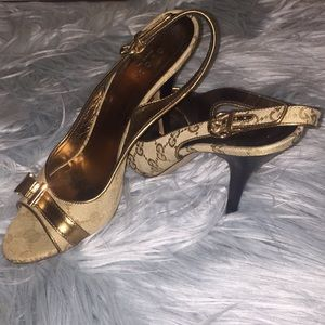 💯% Gucci High heel Sandals